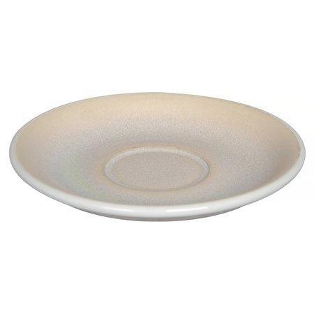 Loveramics Egg - Filiżanka i spodek Flat White 150 ml - Ivory