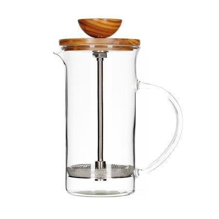 Hario Tea Press 2 filiżanki - Olive Wood