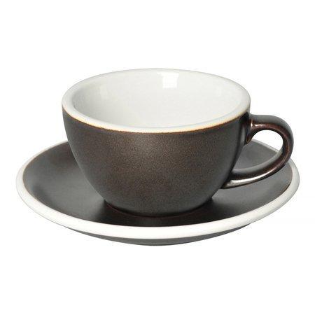 Loveramics Egg - Filiżanka i spodek Cappuccino 200 ml - Gunpowder