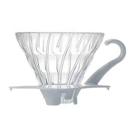 Hario szklany Drip V60-01 - Biały