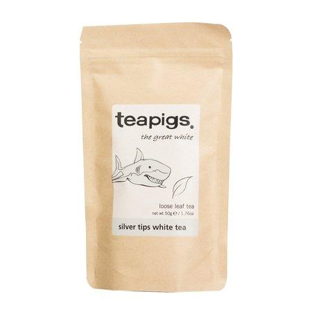 teapigs Silver Tips White - herbata sypana 50g