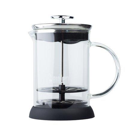 Bialetti Cappuccinatore Vetro 6tz - ręczny spieniacz do mleka 330ml