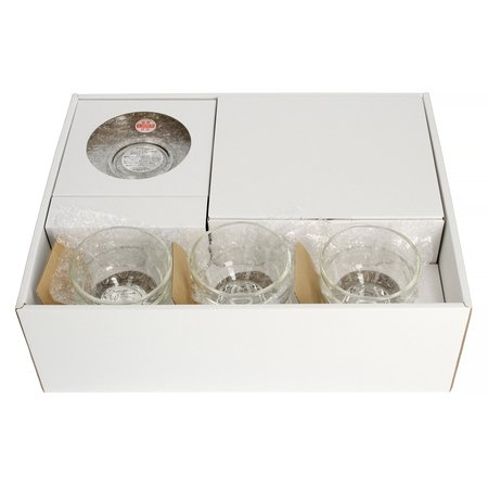 Hario zestaw Dzbanek do herbaty Donau 800 ml +  6 szklanek Yunomi