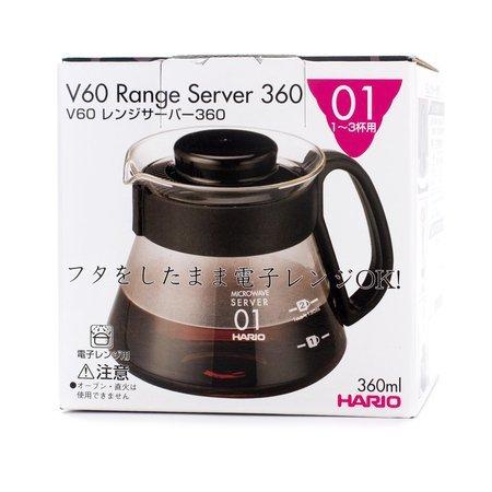 Hario Range Server V60-01 Microwave - 360ml