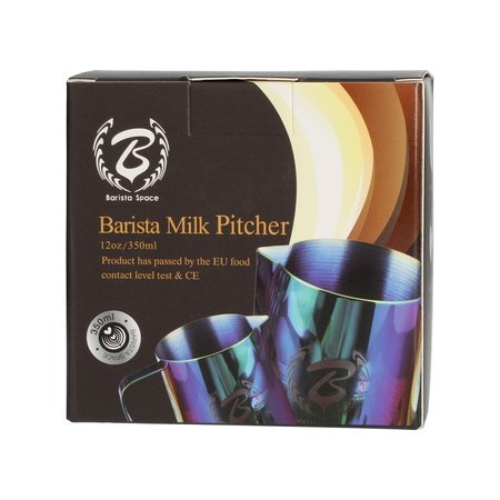 Barista Space - Dzbanek do mleka kolorowy 350 ml