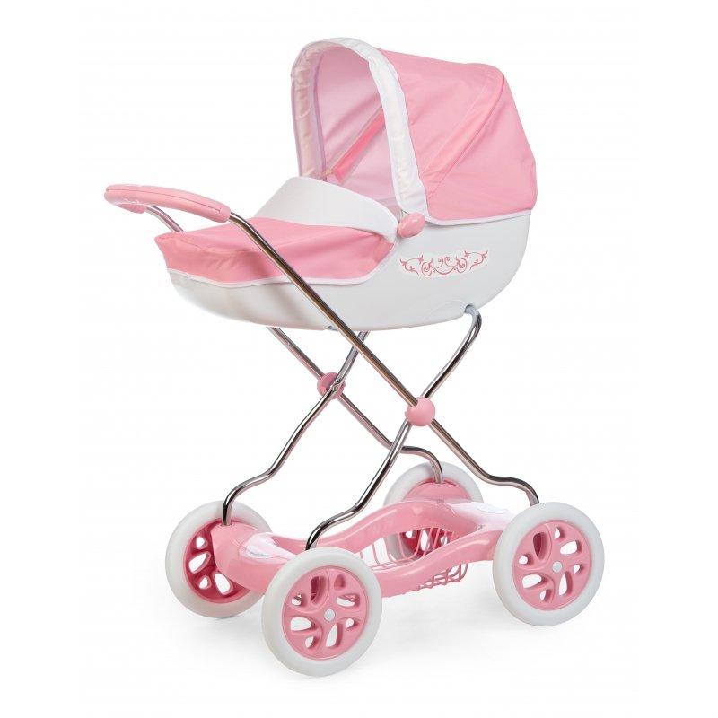Smoby Wózek głęboki dla lalek Inglesina różowy Shara