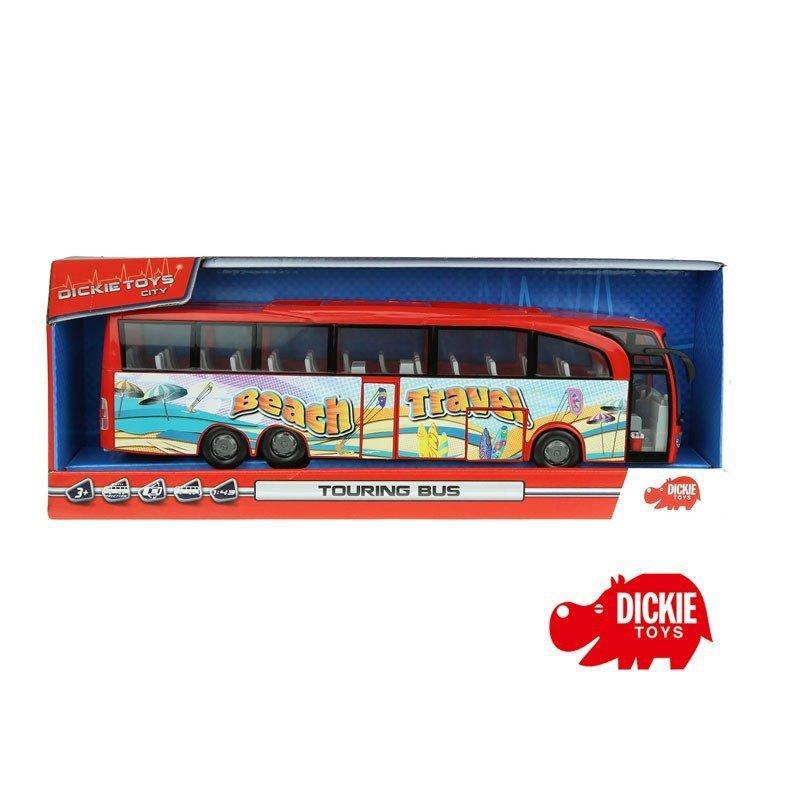 DICKIE Autobus turystyczny Beach Travel Bus Czerwony