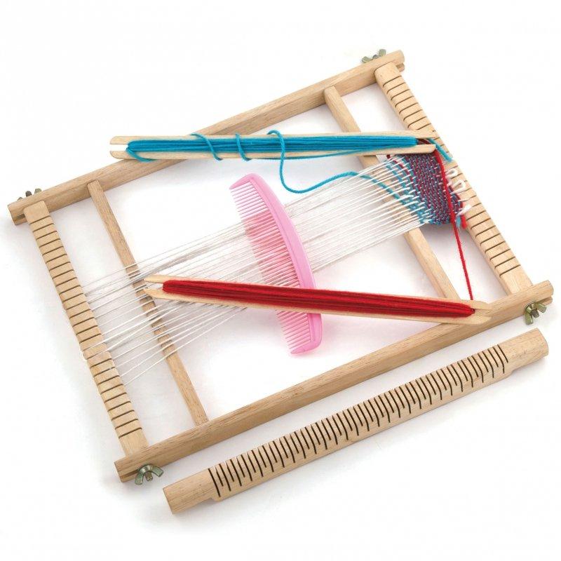 Drewniany Zestaw do tkania Viga Toys