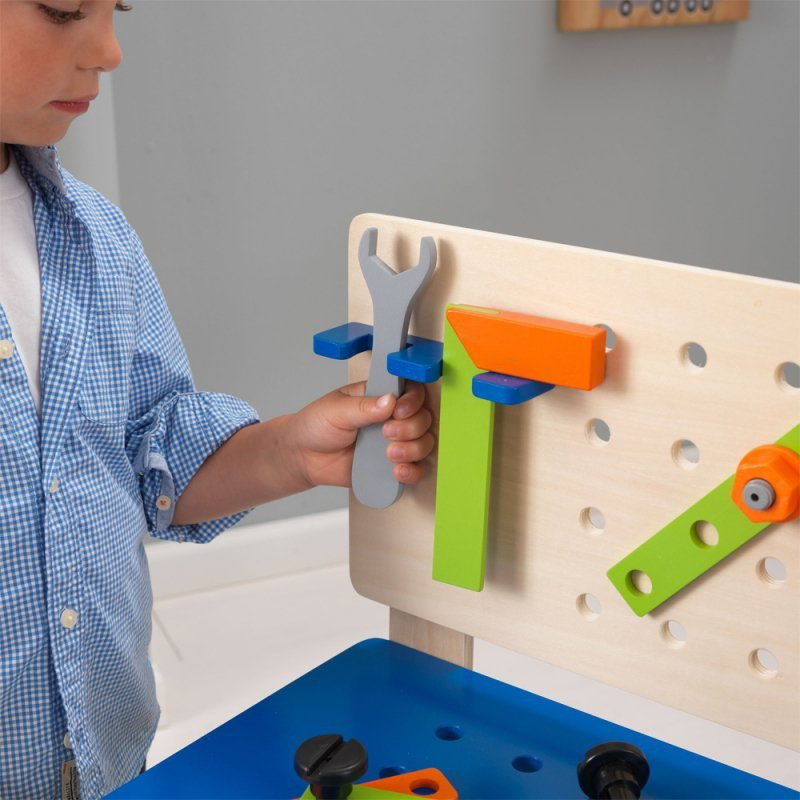 Kidkraft Drewniany Warsztat Dla Dzieci z Narzędziami