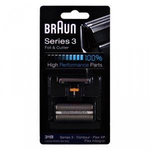 Folia z blokiem ostrzy Braun Combi Pack 31B black