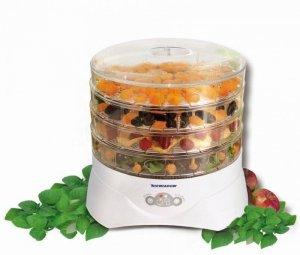 Suszarka do grzybów, warzyw i owoców Niewiadów 972.04 (300W; kolor biały)