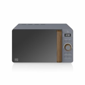 Kuchenka mikrofalowa Swan Nordic Digital Microwave SM22036GRYN (800W; 20l; kolor ciemnoszary)