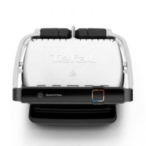 Grill elektryczny Tefal Optigrill Elite GC750D30 (Tradycyjny z płytą; 2000W; kolor srebrny)