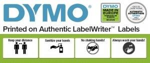 Zestaw etykiet DYMO 32x57mm biały 1000szt. S0722540