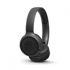 Słuchawki z mikrofonem JBL Tune 500BT Czarne (nauszne; Bluetooth; z wbudowanym mikrofonem; kolor czarny