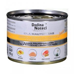 Karma DOLINA NOTECI Premium Junior żołądki z kurczaka z wątróbką cielęcą (0,185 kg )