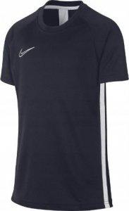 Koszulka dla dzieci Nike B Dry Academy SS granatowa
