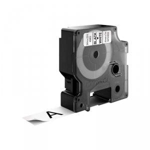 Taśma DYMO D1- 19mm x 7m czarny/biały S0720830 (19mm )