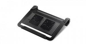 Podstawka chłodząca pod notebook Cooler Master Notepal U2 R9-NBC-U2PK-GP (17.x cala; 2 wentylatory)