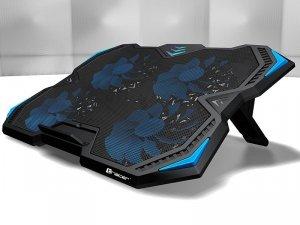 Podstawka chłodząca pod laptop Tracer TURBO TRASTA46098 (17.x cala; 4 wentylatory; HUB)