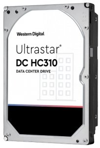 Dysk serwerowy HDD Western Digital Ultrastar DC HC310 (7K6) HUS726T4TAL4204 (4 TB; 3.5; SAS3)
