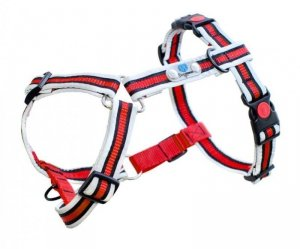 Szelki REFLECTIVE DOGWEAR Anti Pull Plul L k. czerwony