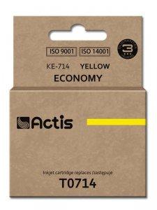 Tusz ACTIS KE-714 (zamiennik Epson T0714, T0894, T1004; Standard; 13.5 ml; żółty)