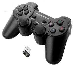 Gamepad bezprzewodowy Esperanza EGG108K (PC, PS3; kolor czarny)