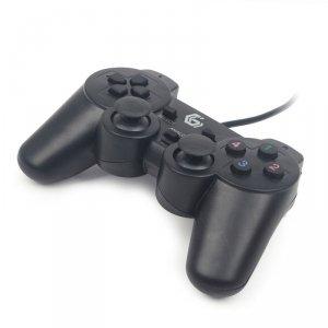 Gamepad GEMBIRD JPD-UDV-01 (PC; kolor czarny)