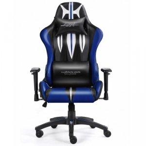 Fotel gamingowy WARRIOR CHAIRS Sword 5903293761106 (kolor niebieski)