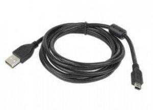 Kabel GEMBIRD CCF-USB2-AM5P-6 (USB M - Mini USB M; 1,8m; kolor czarny)