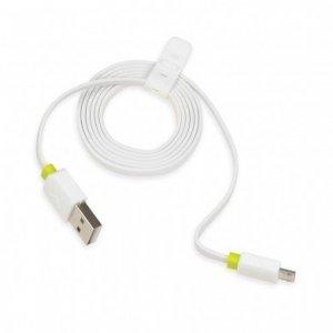 Kabel IBOX USB-MICRO USB 2A 1M IKUMC2A (USB 2.0 typu A M - Micro USB typu B M; 1m; kolor biały)