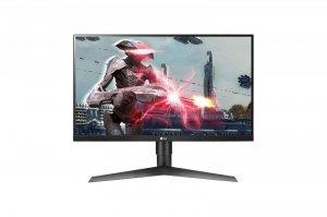 Monitor LG Monitor LG LED 27' 27GL650F-B 27GL650F-B (27; IPS; FullHD 1920x1080; 2 x HDMI 2.0, DisplayPort; kolor czar