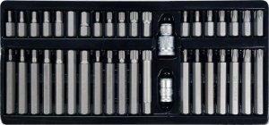 Zestaw kluczy YATO Torx, Hex, Spline YT-0400