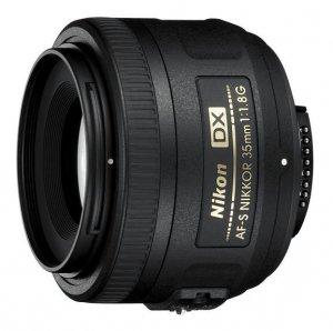 Obiektyw do aparatu Nikon Nikkor 35mm f/1.8G A fS DX - JAA132DA
