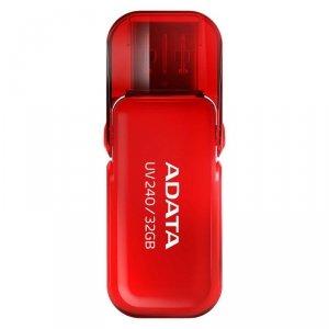 Pendrive ADATA AUV240-32G-RRD (32GB; USB 2.0; kolor czerwony)