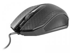 Mysz Tracer CLICK TRAMYS44875 (optyczna; 1000 DPI; kolor czarny)