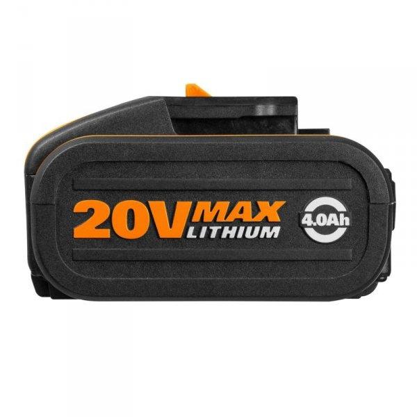 Akumulator 20V 4,0Ah + ładowarka 2A WORX