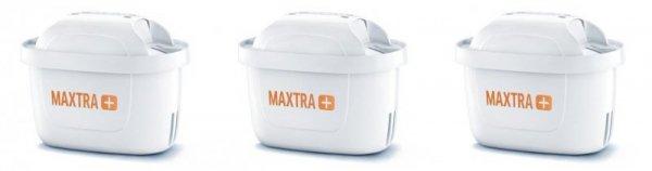 Brita Maxtra+ Hard Water Expert 3x Filtr wody ręczny Biały
