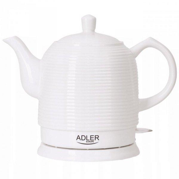 Czajnik elektryczny ADLER AD 1280 1,2 L Biały