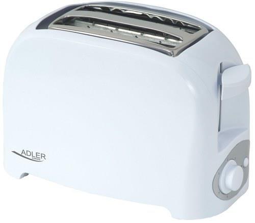 Adler AD 3201 toster 2 kawałek(i) Biały 750 W