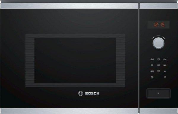 Kuchenka mikrofalowa BOSCH BFL553MS0 (900W; 25l; kolor czarny)