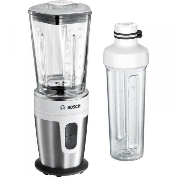 Bosch MMBM7G2M blender 0,6 L Blender stołowy Czarny, Stal nierdzewna, Biały 350 W