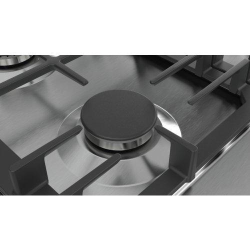 Płyta gazowa BOSCH PCH6A5B90 (4 pola grzejne; kolor szary)