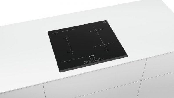 Bosch Serie 6 PVS651FC5E płyta kuchenna Czarny Built-in (placement) 60 cm Płyta indukcyjna strefowa 4 zone(s)