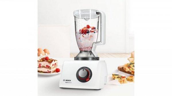 Bosch MultiTalent 8 robot kuchenny 1100 W 3,9 l Półprzezroczysty, Biały Wbudowane wagi