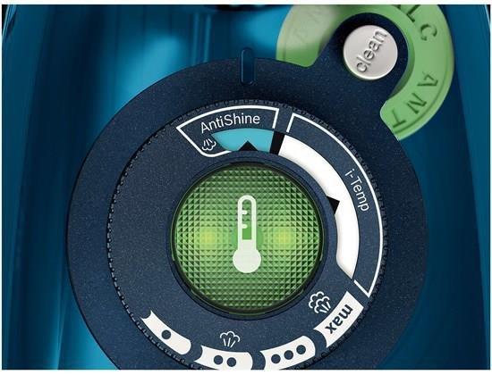Bosch TDA703021A żelazko Żelazko parowe Ceramiczna śliska stopa żelazka Niebieski 3000 W