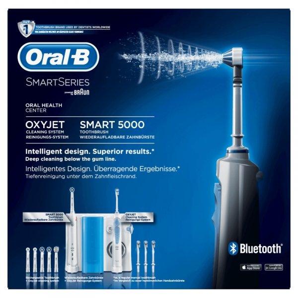 Irygator Oral-B Center OxyJet + Oral-B Smart 5000