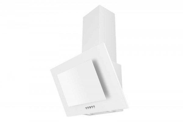 Okap kominowy, przyścienny CIARKO NTI 60 Biały (600mm; kolor biały)