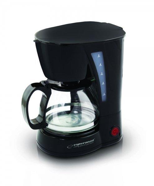 Esperanza EKC006 ekspres do kawy Przelewowy ekspres do kawy 0,6 l